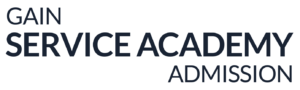Logo for Gain Service Academy Admission