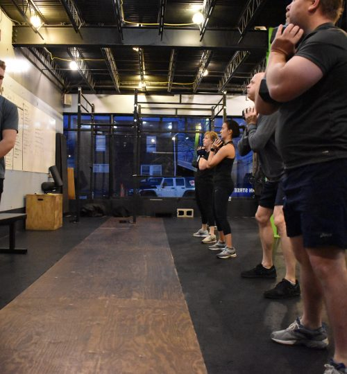 Group Indoor Training at Platoon Fitness Bryn Mawr.